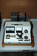Vintage Electronic Capacitor Tester Capacitance Meter - Works