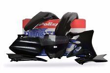 YAMAHA Plastic Kit YZ 125 / YZ 250 2006 - 2014 All Black 90393 Motocross MX