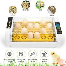 24 Eggs Digital Incubator Automatic Hatcher Temperature Control Chicken Bird Us