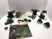 LEGO LOTR: The Hobbit: Attack of the Wargs 79002 + half of 79002 + 79001.