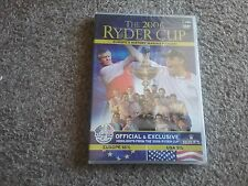 36th Ryder Cup (DVD, 2006) new and sealed freepost