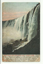 US # 300 (1907) 1c VF/XF Used on Postcard, Niagara Falls, from Dead Post Office