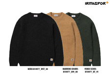 Maglione Carhartt Anglistic sweater uomo invernale girocollo in lana e nylon