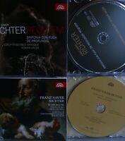 Richter- Requiem&Sinfonia con Fuga/Te Deum- 2CDs- Roman Válek- SUPRAPHON WIE NEU