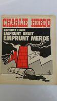 Charlie Hebdo  n 112 du 8 janvier 1973 couverture Reiser