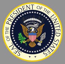 """6"""" x 6"""" Presidential Seal USA U.S. America Premium Vinyl Bumper Sticker"""