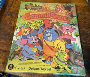 Gummi Bears Colorforms Deluxe Play Set Disney NEW Sealed 1985 Gummy Vintage Toy