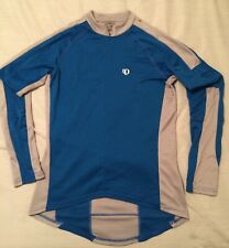 Mens Large PEARL IZUMI L/S Bike Bicycle Jersey