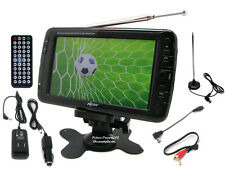 7 Inch Portable Rechargeable ATSC/NTSC Digital LCD TV W/ USB SD Remote Control