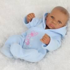 HANDMADE LIFELIKE AFRICAN AMERICAN BABY BOY DOLL REALISTIC REBORN BABY DOLL KID