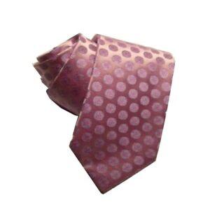 Tie Lilac Satin Of Silk Design Pellets Violet Silk