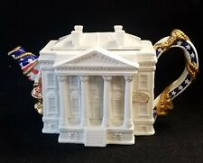 Fitz & Floyd The The White House Teapot Limited Edition