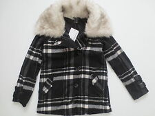 Oakley Women Abudant Black White Plaid Wool Jacket  - 511460 - Size S - NWT