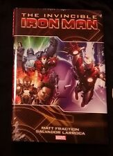 Invincible Iron Man Volume 2 * Fraction HC Hard Cover New Sealed * FREE SHIPPING