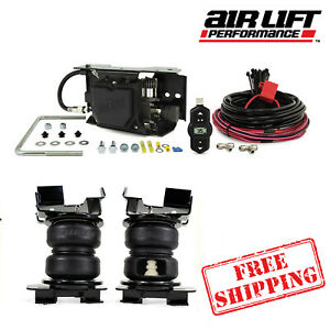 Air Lift Wireless ONE EZ With LoadLifter 5000 Ultimate Springs 2021 Ford F150