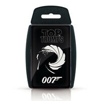 Top Trumps 007 James Bond Card Game