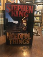 1st Edition 1st Printing Needful Things by Stephen King!!! Excellent Copy!!