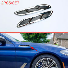 Car Decorate Simulation Air Flow Vent Fender Cover Intake Griller Grille Sticker