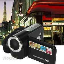 "NEW Sport 1.5"" TFT 16MP 8X Digital Koom Video Protable Kamcorder Kamera DV BK"