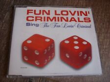 Fun Lovin' Criminals:  Fun lovin' Criminal  CD Single  NM