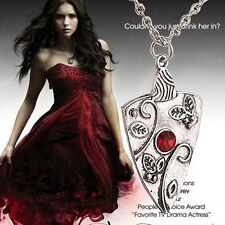 New Fashion Antique Silver Vampire Diaries Chain Pendant Necklace Jewelry