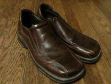 Aldo Men's Brown Leather Slip On Loafers Size 43 (10.5)