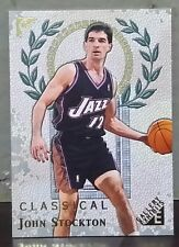 John Stockton card Gallery Exhibits 99-00 Topps Gallery #GE7