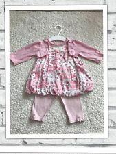 Ropa de bebé niñas 0-3 meses-Bonito Traje De Vestido Y Calzas -