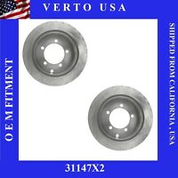 Rear Brake Rotors For Chrysler Sebring , Dodge  Avenger, Stratus , Mitsubishi