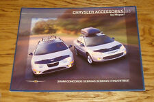 2003 Chrysler 300M Concorde Sebring Convertible Mopar Accessories Sales Brochure