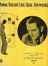 Annie Doesn't Live Here Anymor 1933 Vintage Sheet Music