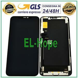 DISPLAY LCD PER APPLE IPHONE 11 PRO MAX TOUCH SCREEN SCHERMO INCELL VETRO NERO