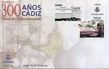 Spain 2018 FDC Cadiz Casa de Contratacion House of Trade 1v Cover Stamps