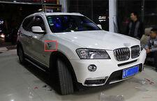 For BMW X3 2011 2012 2013 2014 2015 Chrome Car Side Turn Signal Light Cover Trim