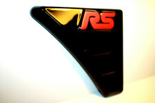 FORD FOCUS MK 2 RS Style WING VENTS ABS - PLASTIC NEW! Tuning to FORD!(RED LOGO)