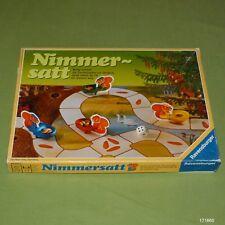 Nimmersatt Würfelspiel von Ravensburger ab 5 Jahren ©1987 Top Rar!