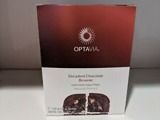 😋 MEDIFAST OPTAVIA DECADENT CHOCOLATE BROWNIE ~ 7 MEALS ~ FREE SHIPPING