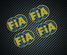 FIA STICKERS x4 F1 MOTORSPORT FERRARI McLAREN WILLIAMS LOTUS