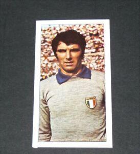 FOOTBALL CARD WORLD CUP WM 74 MÜNCHEN 1974 MUNICH ZOFF ITALIA ITALIE JUVENTUS