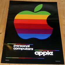 APPLE COMPUTER * poster * 34/24 inches approx. * mint * STRANGER THINGS
