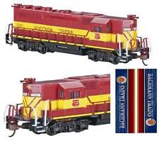 BACHMANN 61297 LOCOMOTORE GP50 Wisconsin Central Train USA - LUCI e BOX SCALA-N
