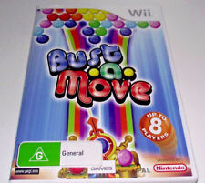 Bust a Move Nintendo Wii PAL *Complete* Wii U Compatible