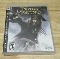 Pirates of the Caribbean: At Worlds End (Sony Playstation 3, PS3, 2007) Complete