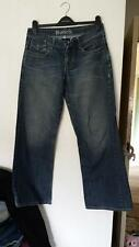Mens 28R W28 Regular Bench Button Jeans Good Condition Slight Scuffing See Photo