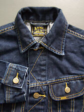 Lee 43TU06 Slim Jacket Men's Medium Blue Denim Vintage LJKTz982 #