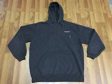 MENS XL - Carhartt K121 Midweight Hoodie Work Hooded Sweatshirt Black