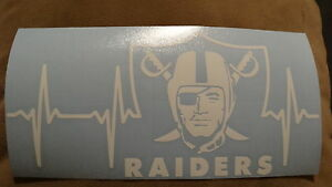 Oakland Raiders Life car decal