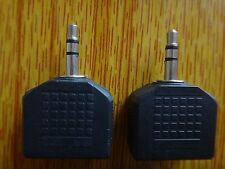10 PCS Audio 3.5mm Jack Plug Headphone Y Splitter 1 Male TO 2 Female AUX Adapter