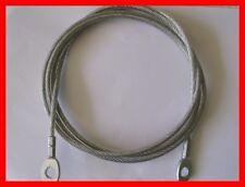 Multigym cavi-Cavo con Occhielli - 4mm. DIAMETRO (con rivestimento in nylon 6mm).