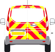 Reflective Rear 3/4 Chevron kit  Ford Connect  Van Graphic Decal 2014 - 2017